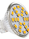 3W GU4(MR11) Spot LED MR11 24 SMD 2835 230 lm Blanc Chaud DC 12 / AC 12 V
