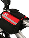 cykel~~POS=TRUNCSadelväska / Väska till cykelramen Cykelväska PVC Pyöräilylaukku 15*11.5*3