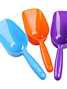Plast mat Skyffel för husdjur (slumpvis färg)