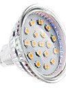 2w gu5.3 led lumina reflectoarelor mr16 15 smd 2835 150-200 lm cald alb dc 12 v