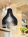 Moderne Brief 1 Light Pendant Single-Head Restaurant Lumière