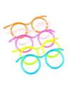 Glasögon Design Straw (slumpvis färg)