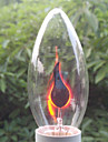 6pcs E14 3W incandescence boule ardente de l'ampoule