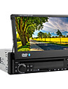 """7 """"1 DIN LCD pekskärm in-dash bil dvd-spelare med bluetooth, stereo radio, iPod, rds"""