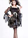 Costumes de Cosplay Costume de Soirée Pirate Fête / Célébration Déguisement d'Halloween Couleur Pleine Robe Chapeau Halloween Carnaval