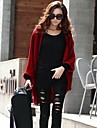 Lady Loose Bat Sleeve Knit Cardigan