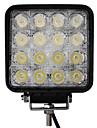 48W 16 LED Light Square de travail
