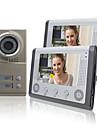 """Night Vision 7 """"téléphone visuel de porte Pour Voisins 2 Familles Appartements ensemble bon marché"""