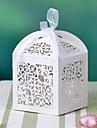 floare de design cu laser cutie tăiate cu panglică (mai multe culori)-set de 12