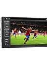 """6.2 """"TFT écran 2DIN au tableau de bord de voiture dvd assistance aux joueurs de BT, RDS, écran tactile"""
