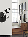 "14.3"" Butterfly Acrylic Mute Fashion Wall Clock"