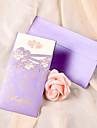"""Personalizat Card Plat Invitatii de nunta Invitații-50 Piesă/Set Stil Inimă Hârtie perlă 6 3/5""""×3 1/2"""" (17*9cm)"""