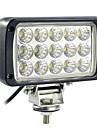 45W 15 LED Rectangle Lampe de travail