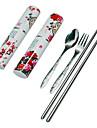kinesisk stil resor servis set - pion mönster