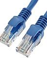 Cat5e UTP RJ45 hane till hane Ethernet Network Cable 350MHz 28AWG CCA PVC (2M)