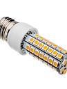 7W E26/E27 Becuri LED Corn T 63 SMD 5050 620-640 lm Alb Cald AC 220-240 V