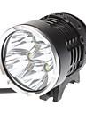 Eclairage de Vélo / bicyclette / Lampe Avant de Vélo LED Cree XM-L T6 Cyclisme Rechargeable 18650 4800 Lumens Batterie Cyclisme-CHEVALIER