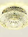 3W Contemporain Cristal / LED / Style mini Montage du fluxSalle de séjour / Chambre à coucher / Salle à manger / Cuisine / Salle de bain