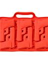 silikon pistol frys 1st islådan mögel (slumpvis färg)