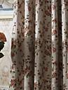 två paneler michelle luxury® land blomma grenar energibesparing gardin drapera