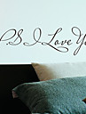 Ord P.S Love You Wall Stickers