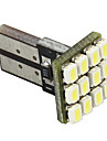 Merdia blanc 12 SMD 1210 912 921 Canbus LED sans erreur de sauvegarde des ampoules de Pair-LEDD004JMA12