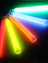 Extérieure multicolore chimique liquide 6 pouces Glow Light Stick avec crochet pour SOS ou partie (12h-24h, couleur aléatoire)