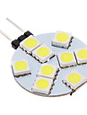 Spot LED Blanc Froid G4 9 SMD 5050 100-150 LM AC 12 V