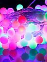 [Newyearsale] 50-conduit 9m eu imperméable brancher extérieure vacances décoration de Noël RGB LED guirlande lumineuse (220v)
