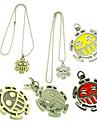 Smycken Inspirerad av One Piece Trafalgar Law Animé Cosplay Accessoarer Halsband Röd / Gul / Guld / Silver Legering Man