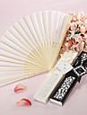 """Mătase Ventilatoare și umbrele de soare-# Piece / Set Ventilatoare de Mână Temă Grădină Temă Clasică Negru8 ¼"""" h x 14 ½"""" w(21cm înalt"""