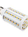 10W E26/E27 LED-lampa T 60 SMD 5050 850-890 lm Varmvit AC 220-240 V
