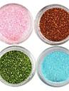 4 Manucure Dé oration strass Perles Maquillage cosmétique Manucure Design