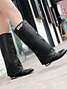 chaussures pour femmes fermées orteil talon compensé cuissardes plus de couleurs disponibles