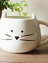 Tasse de chat de bande dessinée, céramique 13,5 oz, Multi-couleur