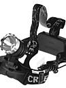 Eclairage Lampes Frontales LED 1600 Lumens 1 Mode 18650 Etanche Camping/Randonnée/Spéléologie Cyclisme Pêche De travail EscaladeAlliage