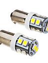 BA9S 1s 10x3528smd 70-90lm 6000k lumière blanche froide ampoule led (12v) 2pcs