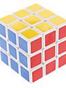 Shengshou® Cube de vitesse lisse 3*3*3 Vitesse / Niveau professionnel Cubes magiques Blanc Autocollant lisse Anti-pop / ressort réglable