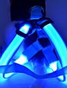 Chien Harnais Lampe LED / Ajustable/Réglable Solide Rouge / Blanc / Vert / Bleu / Incanardin / Jaune / Orange Nylon
