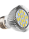 5W E26/E27 LED-spotlights 16 SMD 5730 420-450 lm Varmvit AC 220-240 V