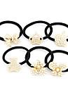 De moda coreeană dulce Crown Pearl Tie păr