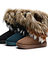 Fourrure talon plat bottes de neige Mules / Bottines Casual Shoes (plus de couleurs)