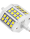 5W R7S LED-spotlights 24 SMD 5050 440 lm Kallvit AC 85-265 V