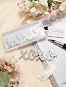 Oțel inoxidabil Favoruri practice Semne de Carte & Cuțite pentru Scrisori Temă Clasică Argintiu Ciucure / Etichetă