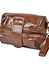 Fashion Retro Style PU Läder Kvinnors handväska Kamera handväska axelväska Packet hänger Plånbok