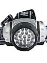 Bärbar 7 LED ljus pannlampa för utomhussporter