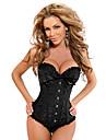 Darling, vêtements de femmes sexy corset de satin