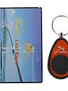 Anti-Förlorade Alarm RF Kreditkortsformat Trådlös Super Electronic Key Finder med 1 x Mottagare
