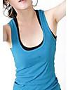 Moda pentru femei țesute din bumbac Rib Tank Top