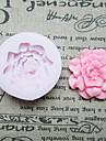 Fleurs un moule DIY Trou fleur de silicone de fondant Moules sucre Craft Outils de résine moules moules pour gâteaux